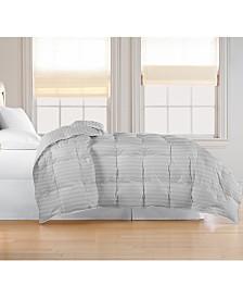 Blue Ridge Oversized White Goose Feather/Down Comforter, Full/Queen