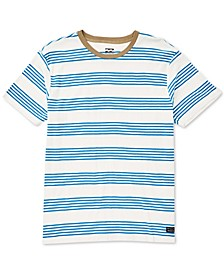 Men's Die-Cut Striped T-Shirt
