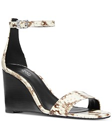 MICHAEL Michael Kors Fiona Wedge Sandals