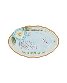 Fitz & Floyd Toulouse Appetizer Plate