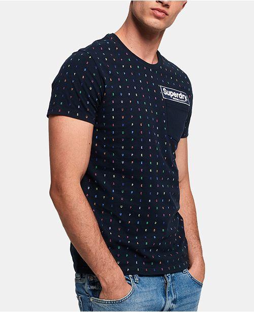 Superdry Men's Vintage Logo Panel T-Shirt