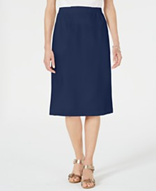 Alfred Dunner Classics Pull-On Skirt