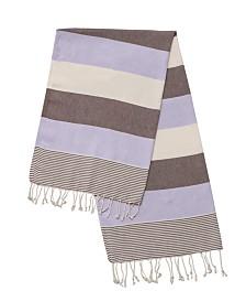 Enchante Home Flora Pestemal Fouta Turkish Cotton Beach Towel