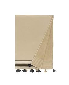 Enchante Home Capri Pestemal Fouta Turkish Cotton Beach Towel