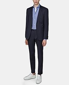 BOSS Men's Slim Fit Printed Cotton Shirt