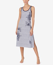 Lauren Ralph Lauren Cotton Ballet Nightgown