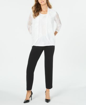 Stretch Ankle Pants