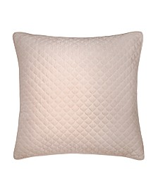 Lillian August Provence Lilac Velvet Decorative Pillow