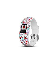 Vivofit jr. 2 Disney Minnie Mouse Adjustable Kids Activity Tracker