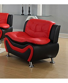 Rory Collection Faux Leather Chair