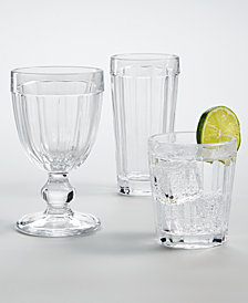Martha Stewart Collection La Dolce Vita Glassware, Created For Macy's