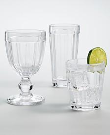 Martha Stewart Collection La Dolce Vita Glassware, Created For Macy's