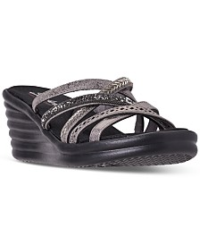 Skechers Women's Rumblers - Silky Smooth Sandals from Finish Line