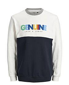 Jack and Jones Men's 90'S Style Sweatshirt