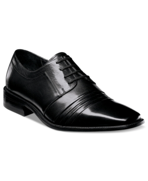 Stacy Adams Raynor Pleated Lace-Up Shoes Men's Shoes