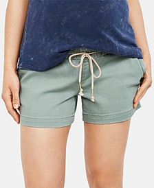 Maternity Drawstring Shorts