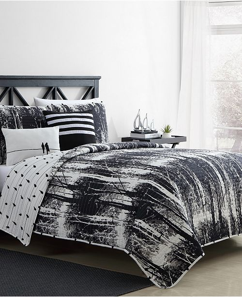 VCNY Home Woodland Twin XL 4PC Quilt Set