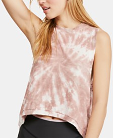 Free People Love Tie-Dyed Tank Top
