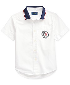 Polo Ralph Lauren Toddler Boys American Poplin Shirt