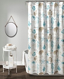 "Harbor Life 72"" x 72"" Shower Curtain"