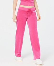 Juicy Couture Tie-Waist Ankle Pants
