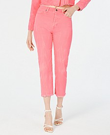 Icon High-Rise Straight-Leg Jeans