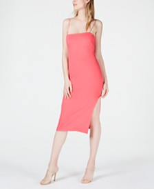 4SI3NNA Bodycon Midi Dress