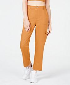Elastic-Waist Cargo Pants