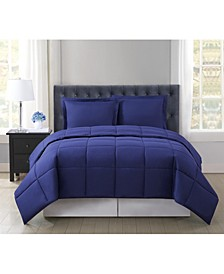 Everyday Solid Full/Queen 3-Pc. Comforter Set