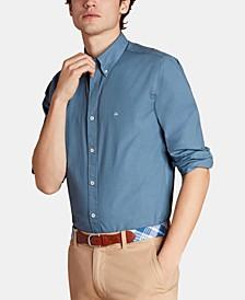 Men's Slim-Fit Broadcloth Shirt