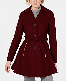 INC Petite Skirted Walker Coat, Created for Macy's