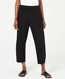 Organic Ankle Pants, Regular & Petite