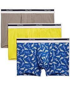Nautica Men's 3-Pk. Stretch Trunks