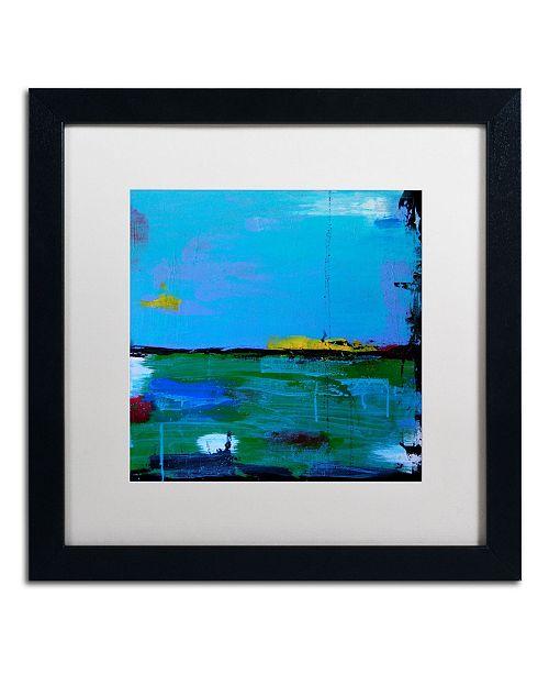 "Trademark Global Nicole Dietz 'Sunrise' Matted Framed Art - 16"" x 16"""