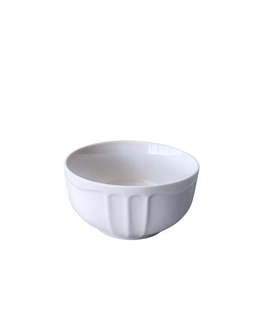 Over and Back Cream Bowls - Set Of 4