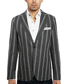 Joe's Charcoal Stripe Men's Jacket