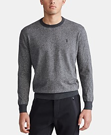 Polo Ralph Lauren Men's Big & Tall Pima Cotton Sweater