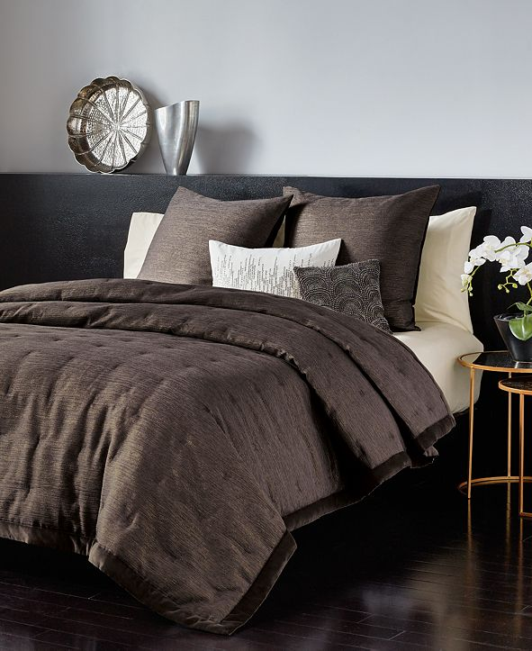 Donna Karan CLOSEOUT! Home Radiance Full/Queen Quilt Set