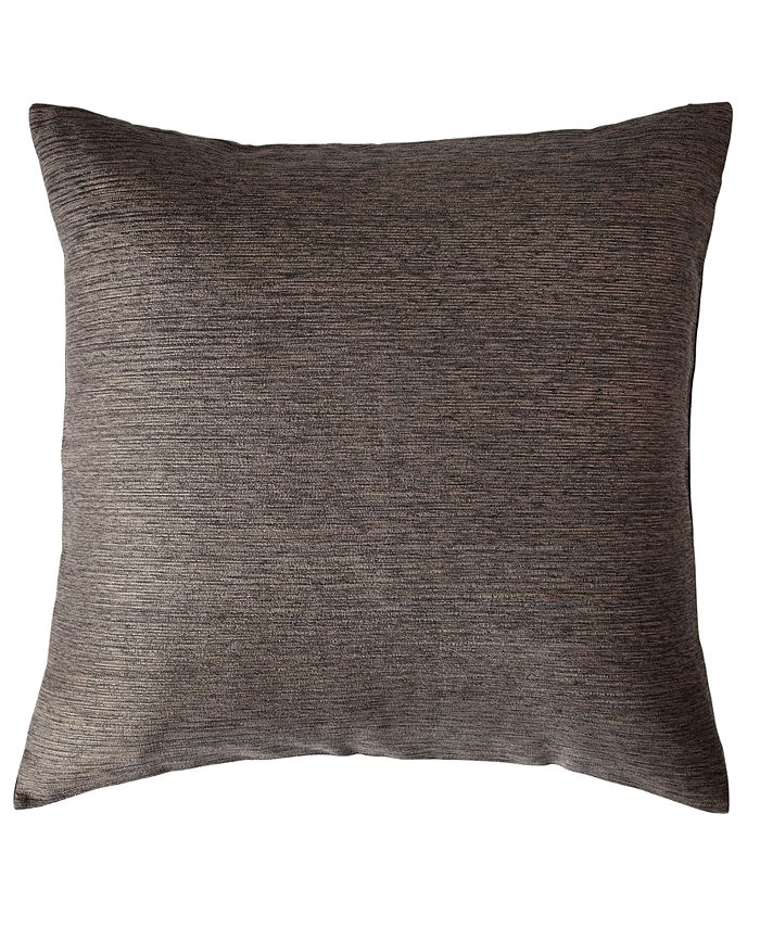 Donna Karan - Collection Radiance Quilt Euro Sham in Charcoal