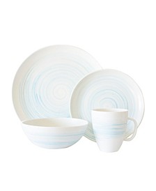 Charmouth 16-PC Dinnerware Set, Service for 4