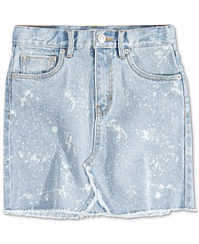 Big Girls High-Rise Denim Skirt