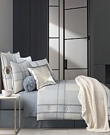Oscar|Oliver Leighton Blue Queen Comforter Set