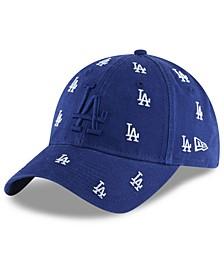 Women's Los Angeles Dodgers Logo Scatter Adjustable 9TWENTY Cap