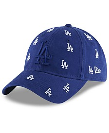 New Era Women's Los Angeles Dodgers Logo Scatter Adjustable 9TWENTY Cap