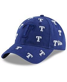 New Era Women's Texas Rangers Logo Scatter Adjustable 9TWENTY Cap
