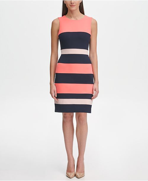 9f71976fe93 Tommy Hilfiger Colorblock Sheath Dress; Tommy Hilfiger Colorblock Sheath  Dress ...