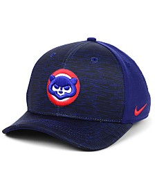 Nike Chicago Cubs Velocity Swooshflex Stretch Fitted Cap