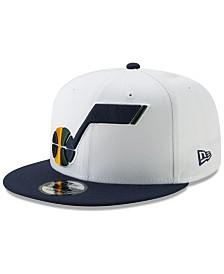 New Era Utah Jazz White XLT 9FIFTY Cap