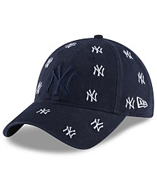 New Era Women's New York Yankees Logo Scatter Adjustable 9TWENTY Cap