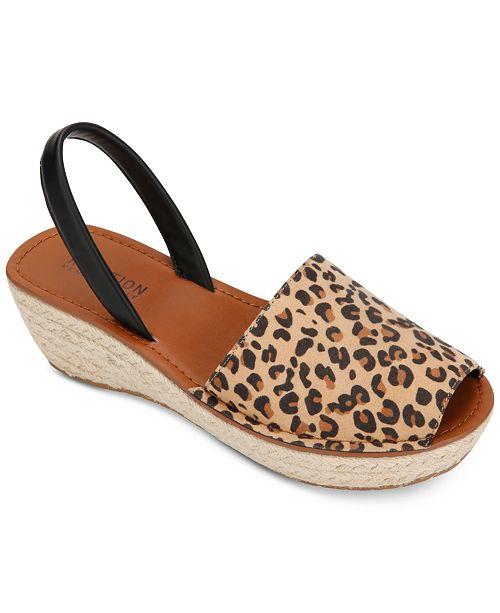 39d9e11ceb ... Kenneth Cole Reaction Women's Fine Glass Espadrille Wedge Sandals ...